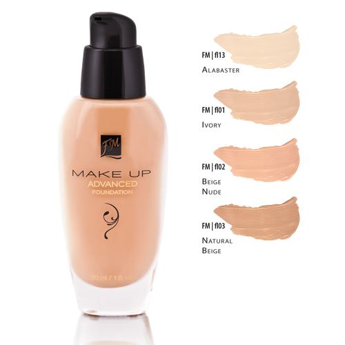 Nadčasový make up Advanced Foundation covering effect BEIGE NUDE